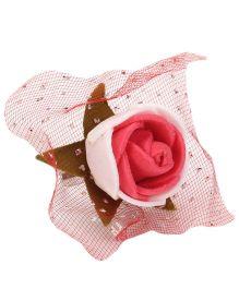 Sugarcart Rose Adjustable Finger Ring - Red