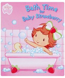 Bath Time For Baby Strawberry