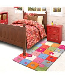 Little Looms Beautiful Play Of Colours Rug - Multicolor