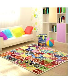 Little Looms Snake And Ladders Rug - Multicolor