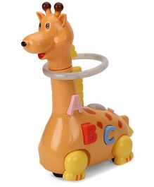 Playmate Giraffe Funny Musical Toy - Brown