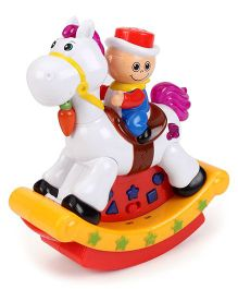 Playmate Cartoon Electric Series Swing Hobby Horse - Multi Color