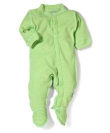 I play Half Sleeves Bodysuit - Green