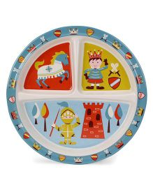 Sugar Booger Divided Suction Plate Little Prince Print  - Muticolour