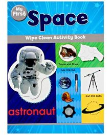 Wipe Clean Activity Book - Space