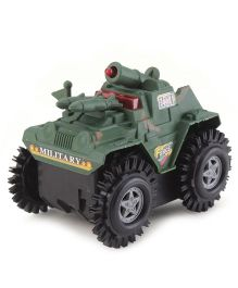 Playmate Tumbling Tank Toy - Greem