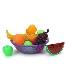 Ratnas Fruit Basket Multicolor - 11 Pieces