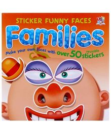 Sticker Funny Faces - Families