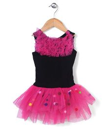 Wenchoice Tutu Dress - Black & Pink