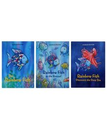 My Rainbow Fish Book Box Pack Of 3 Books - English