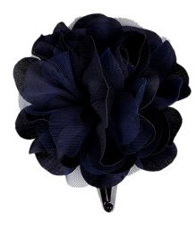 Miss Diva Single Flower Tic Tac - Navy Blue
