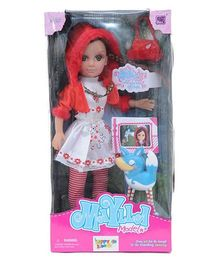 Happykids Fashion Doll Red - 17 inch