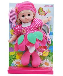 Happykids Flower Angel Doll Pink - 12 inch