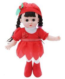 Happykids Flower Angel Doll Red - 12 inch