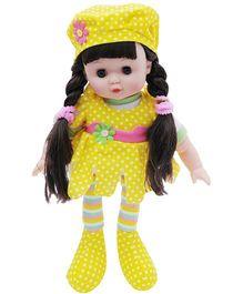 Happykids Flower Angel Doll Yellow - 12 inch