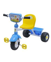 Happy Kids Tricycle With Lights And Music - Blue