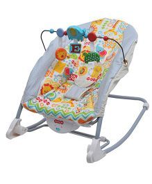 Happykids Portable Rocker Bouncer - Off White