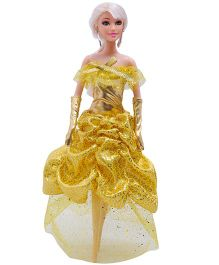 Happykids Fashion Doll Yellow - 12 inch