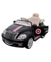 Happy Kids Ride On Car - Black