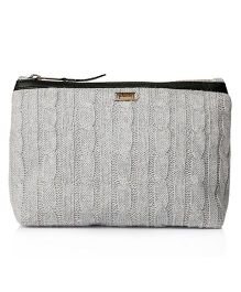 Pluchi Solid Travel Pouch - Grey