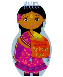 Read And Dress My Indian Dolls - English