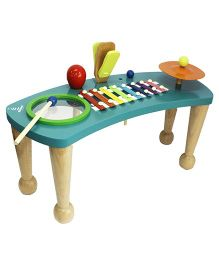 Shumee Wooden Rock On Toddler Orchestra - Multicolour