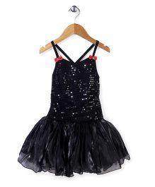 Wenchoice Classy Sequin Work Dress - Black