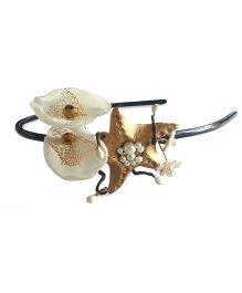 Soulfulsaai Star Fish Hairband - Golden