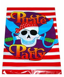 ShopAParty Pirate Print Table Cover - Multicolor