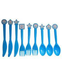 ShopAParty Blue Cupcake Cutlery Set - Blue