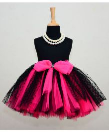 TU Ti TU Princess Tutu Skirt - Black & Fuchsia