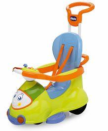 Chicco Quattro Manual Push Ride-On - Green