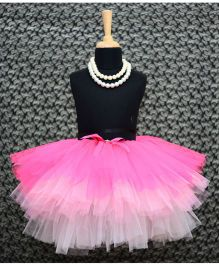 TU Ti TU Tripple Layered Tutu Skirt - Pink