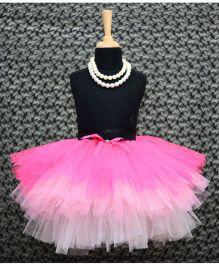 TU Ti TU Tripple Layered Tutu Skirt - Pink