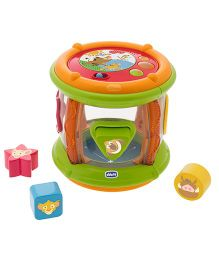 Chicco Lion King Shape And Sound Tambourine - Multicolor
