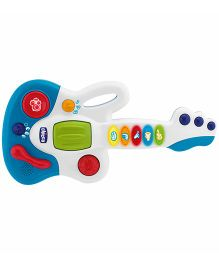 Chicco Baby Star Guitar - White And Blue