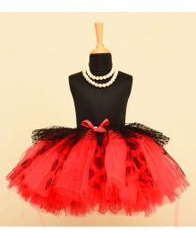 TU Ti TU Dot Print Tutu Skirt - Red