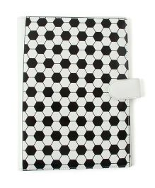 Aayera's Nest Football Print File Folder - Black & White