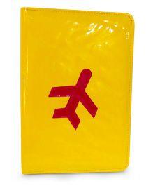 Aayera's Nest Family Passport Wallet - Yellow