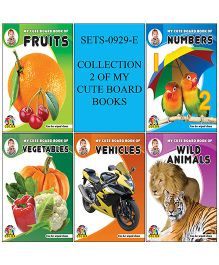 Collection of My Cute Board Books Pack of 5 - English