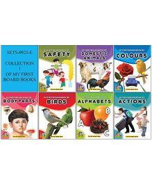 Collection 1 of My First Board Books Pack of 7 - English