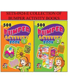 Collection of Bumper Activity Books Pack of 2 - English