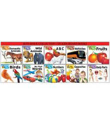 Collection 1 of Kids Board Books Pack of 10 - English