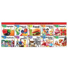 Collection 2 of Kids Board Books Pack of 10 - English