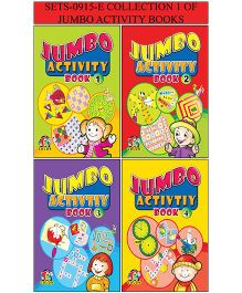 Collection 1 of Jumbo Activity Books - English