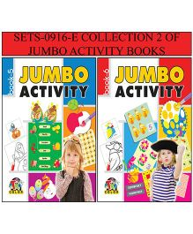Collection 2 of Jumbo Activity Books - English