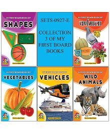 Collection 3 of My First Board Book - English And Hindi