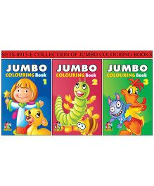 Collection 1 of Jumbo Coloring Books - English
