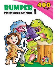 Bumper Coloring Book 1 - English