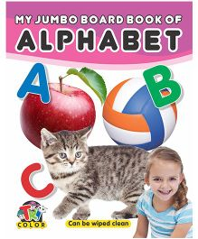 My Jumbo Board Books Alphabet - English